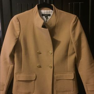 Double breasted, military inspired blazer/jacket.